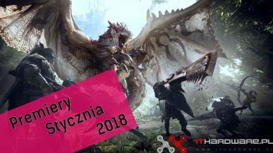 Premiery gier - Styczeń 2018