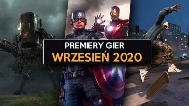 Premiery gier - Wrzesień 2020