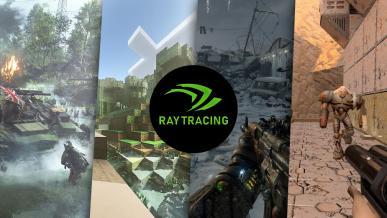 Przegląd gier ze wsparciem śledzenia promieni (ray-tracingu)