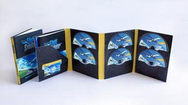 Pudełkowe wydanie Microsoft Flight Simulator będzie zawierać 10 płyt DVD