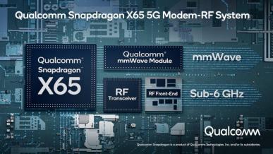 Qualcomm Snapdragon X65 - pierwszy 10-gigabitowy modem 5G