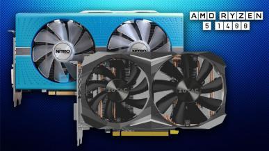 Radeon RX 590 vs  GTX 1060 GDDR5X. Test na Ryzen 5 1400