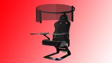 Razer prezentuje gamingowy fotel z 60-calowym OLED-em
