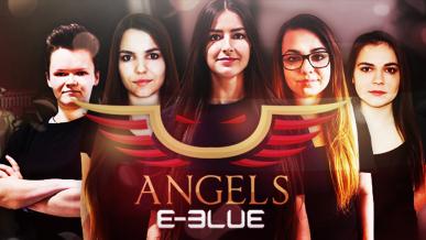 Rozwój żeńskiego e-sportu–polskie E-BLUE Angels zagra na ESU Masters Female