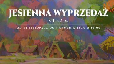 Ruszyła jesienna wyprzedaż na Steam oraz Nagrody Steam 2020
