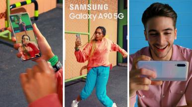 Samsung Galaxy A90 5G - średniak z 5G i niezłą specyfikacją