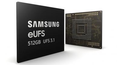 Samsung rozpoczyna masową produkcję pamięci eUFS 3.1 do smartfonów