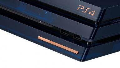 Sony świętuje sprzedaż 500 mln konsol PlayStation limitowaną wersją PS4 Pro
