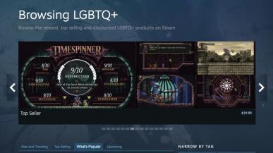 Steam wprowadza oficjalny tag LGBTQ+ do oznaczania gier