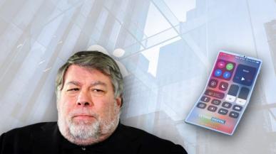 Steve Wozniak chce rozkładane smartfony od Apple. Firma jednak woli czekać