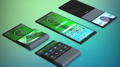 Tak może wyglądać składany smartfon Lenovo