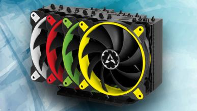 Test coolera ARCTIC Freezer 33 eSports ONE