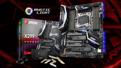 Test płyty głównej MSI X299 GAMING PRO CARBON AC