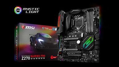 Test płyty głównej MSI Z270 Gaming Pro Carbon