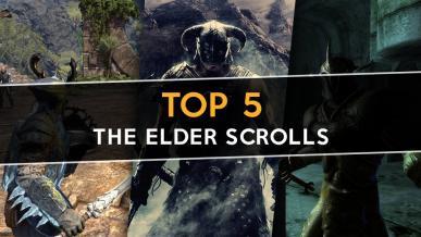 Top 5 gier z serii The Elder Scrolls