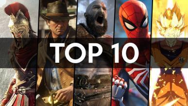 Top 10 najlepszych gier 2018 roku