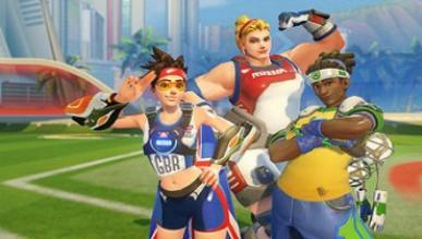 Trochę Rocket League w Overwatch - nowy tryb Lúcioball