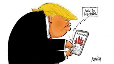 Trump: oskarżenie Huawei to taktyczna zagrywka. Huawei nie chce odwetu