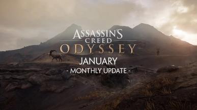 Ubisoft zapowiedział dwie nowe aktualizacje do Assassin`s Creed: Odyssey