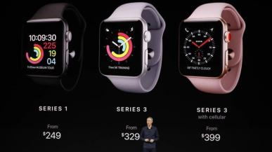Watch Series 3 - Apple w końcu stawia na zegarek ze wsparciem dla LTE