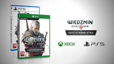 Wiedźmin 3: Edycja Kompletna trafi na PS5 i Xbox Series X. CD Projekt ujawnia wyniki finansowe