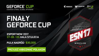 Wielki finał NVIDIA GEFORCE CUP 2017 – przyjdź i kibicuj Polakom
