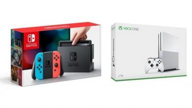 Xbox One wkrótce może przegrać w rankingach sprzedaży z Nintendo Switch