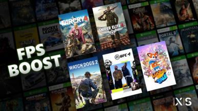 Xbox Series X i S z funkcją FPS Boost, która zwiększa liczbę kl./s w starszych tytułach