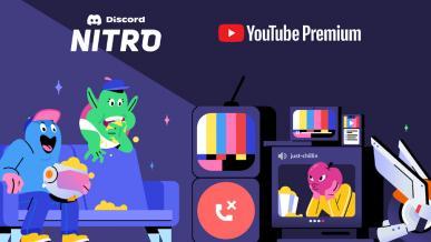 YouTube Premium w prezencie dla użytkowników Discord Nitro