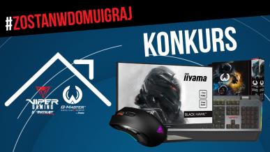 #zostanwdomuigraj - konkurs z nagrodami | ITHardware.pl