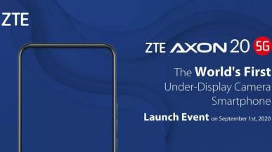 ZTE wprowadza na rynek pierwszy telefon 5G z aparatem pod wyświetlaczem. Koniec otworów w ekranach?