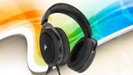 Słuchawki Corsair HS50 - Ergonomia i nienaganna...