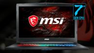 Test MSI GP72MVR 7RFX Leopard Pro: Core i7 7700 HQ,...