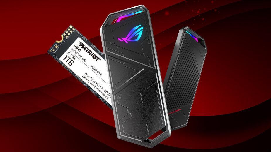 ASUS ROG Strix Arion (+ Patriot P300) - test gamingowej kieszeni na dysk SSD M.2