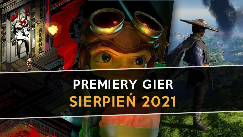 Najlepsze premiery gier - Sierpień 2021